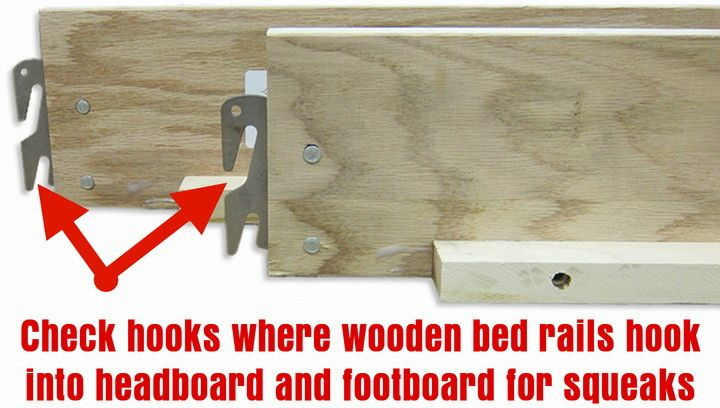 how to fix a creaky box spring