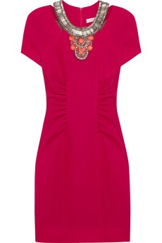 Matthew Williamson beaded wool crepe dress.  (Vogue 8742)#Repin By:Pinterest++ for iPad#