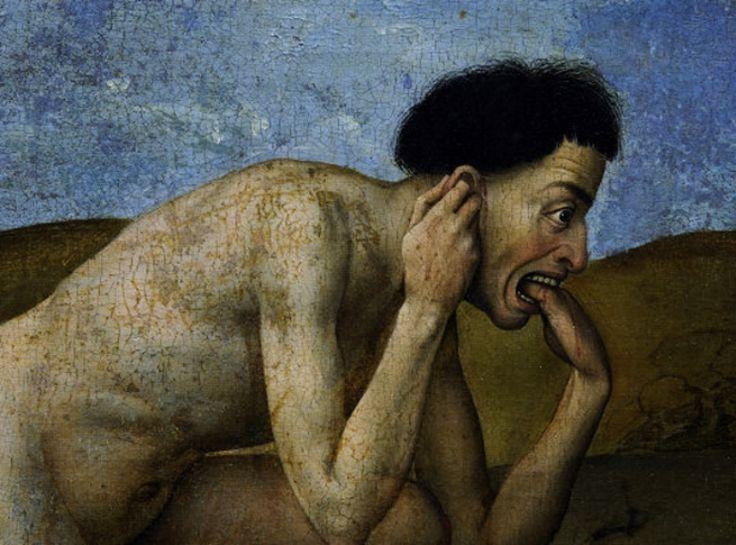 """signorformica: """"The Last Judgment (detail) 1446-52 Rogier van der Weyden Bibliothèque Infernale on FB """""""