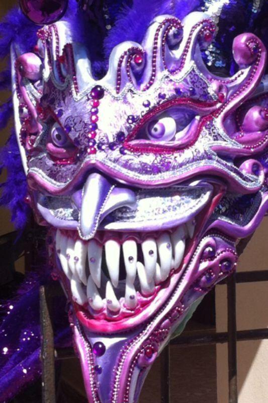 Los Bufones, Carnaval Vegano 2013. Proceso de detalles