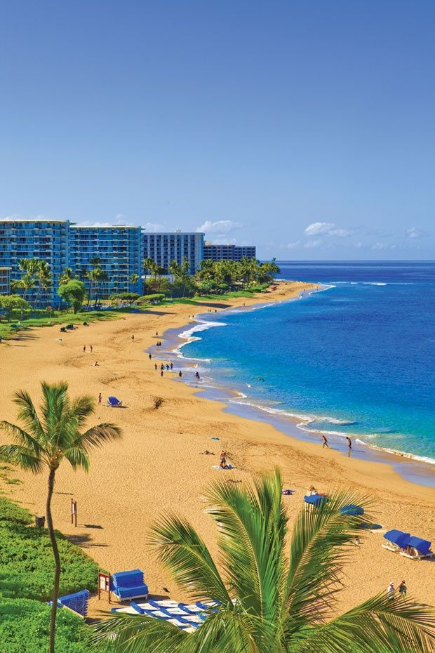 20 Amazing Photos of Beaches Around the World Part 1 - Kaanapali Beach, Maui