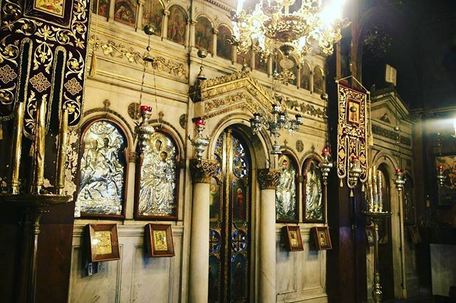 Look where our walking tour in Athens takes you!🙏 #greekchurch #visitGreece #Greece #greek