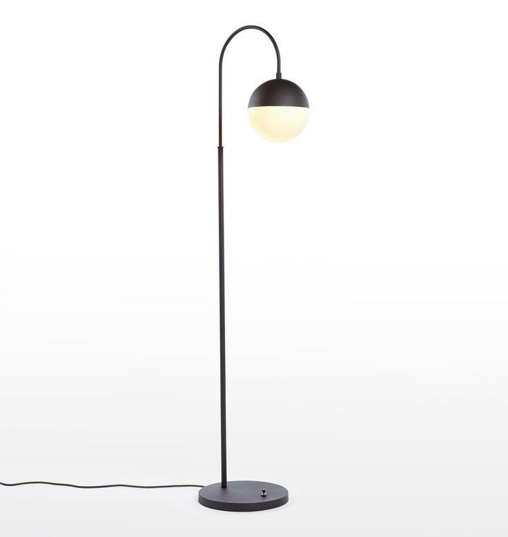 Cedar moss floor lamp