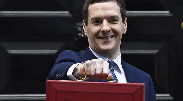 Britain's Chancellor of the Exchequer, George Osborne. ©Toby Melville