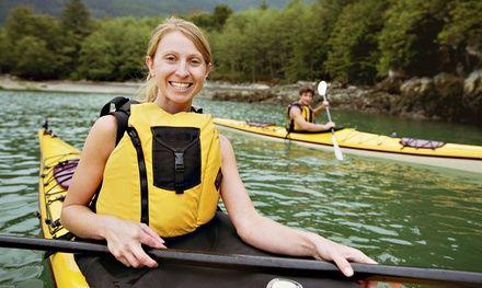 Kayak Rentals at All Points of Sail Sailing School