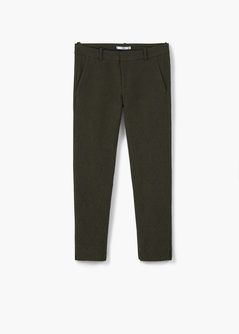 Jacquard suit trousers