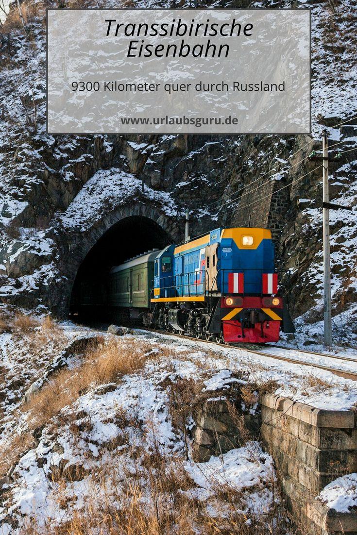 Die Transsibirische Eisenbahn ist besonders bei Backpackern und Reisenden, die ein außergewöhnliches Abenteuer suchen, beliebt. Denn die Fahrt von Moskau nach Wladiwostok dauert sechs Tage.