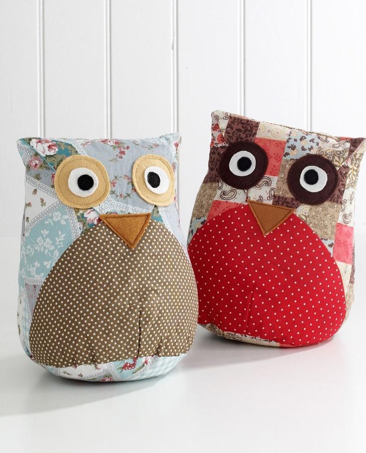 owl door stop soo cute i could make this
