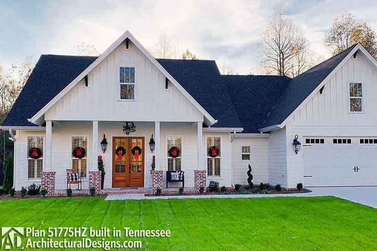 Exclusive House Plan 51772HZ Comes To Life In Tennessee