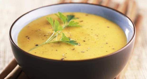 Soupe de potiron aux patates doucesVoir la recette de la Soupe de potiron aux patates douces >>