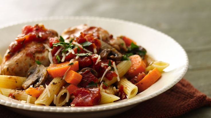 Cook for two! It's easy with our scaled-down recipes like this savory chicken dish.