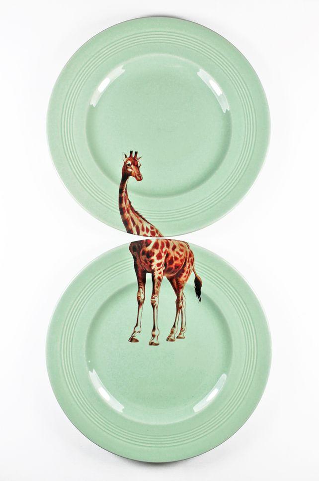 Giraffe plates £35.00