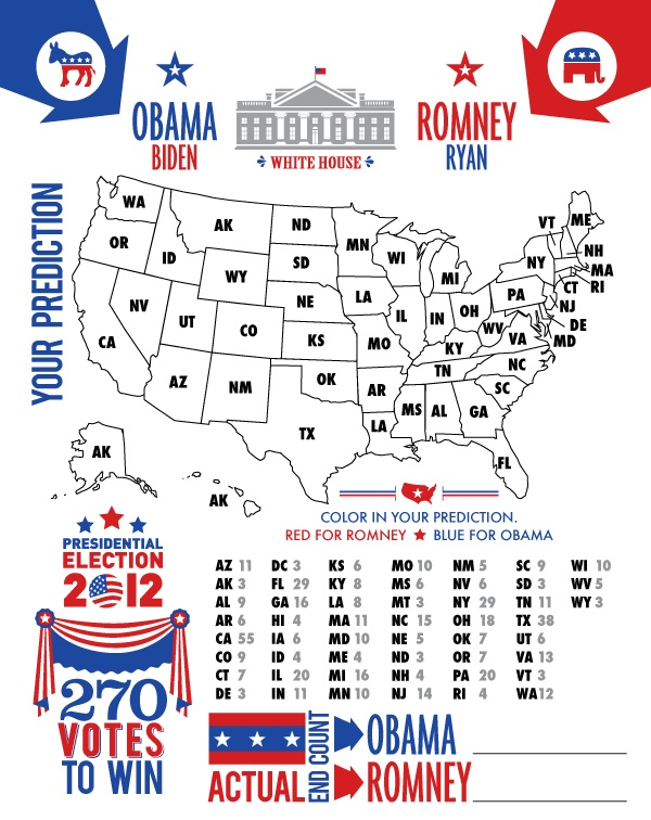 Wants and Wishes: Party planning: {free printables} 2012 Election Party!