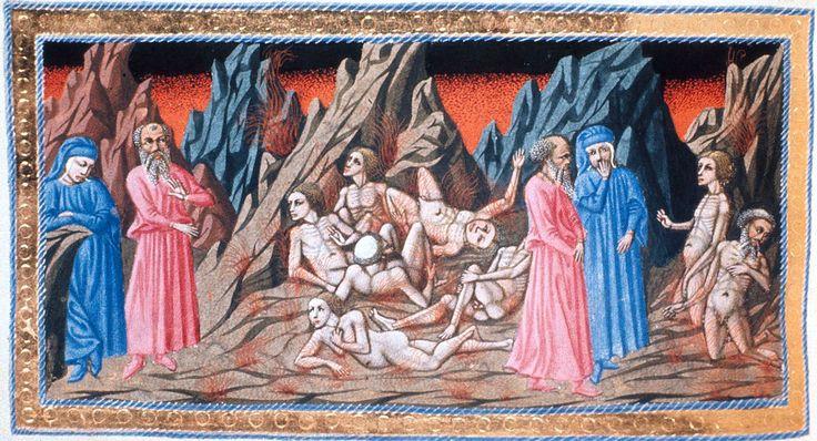 http://tito0107.livejournal.com/279391.html Миниатюры к «Божественной комедии» - Джованни.