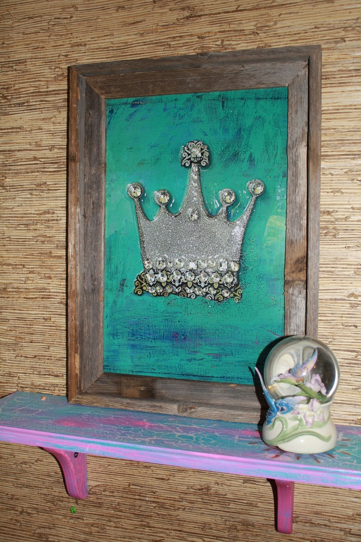 Crown on a Room to Dream In