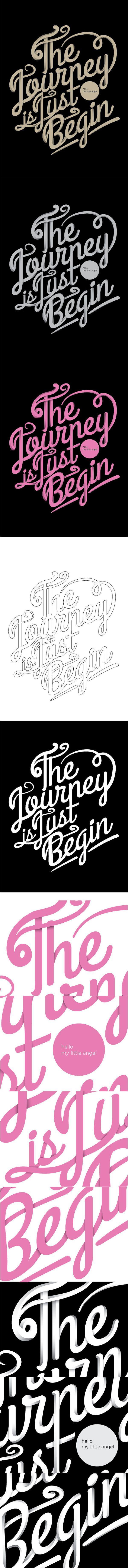 the journey is just begin by luigi oriza, via Behance