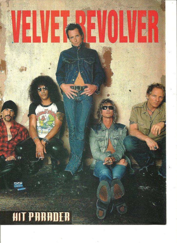 Velvet Revolver, Slash, Scott Weiland, Full Page Pinup