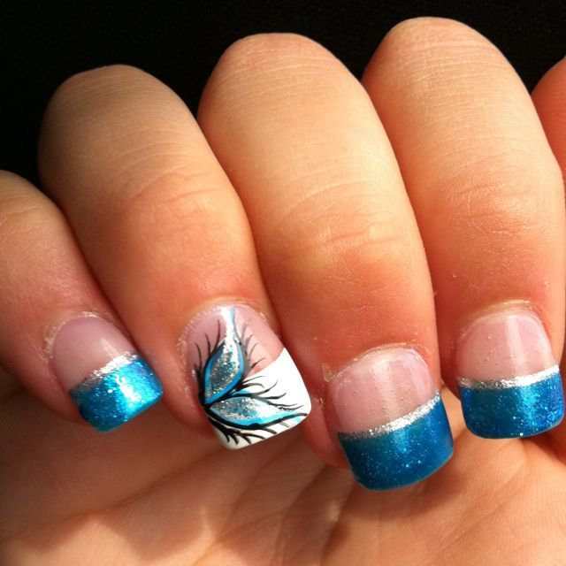 Nail ideas - Best 25+ French Tip Nail Designs Ideas On Pinterest Nail Tip