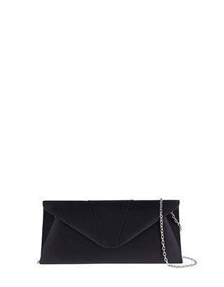 Ingrid Satin Clutch Bag