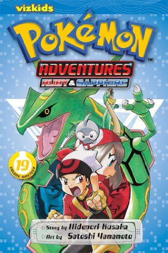 Pokémon Adventures, Vol. 19 (Pokemon) by Hidenori Kusaka,Ruby is losing friends by the minue...! Why does Sapphire never want to see his face again? And why has one of Ruby's Pokemon run away? Meanwhile, the Hoenn region is on the verge of destruction as two Legendary Pokemon clash in the depths of the ocean - and only Ruby knows how to reach them to intervene! Then, what will happen when evil Team Aqua and equally evil Team Magma team up?!