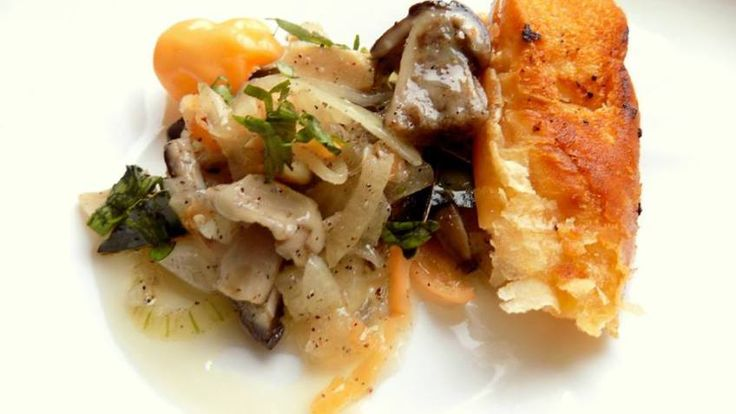 Marinovane houby s chilli paprickami