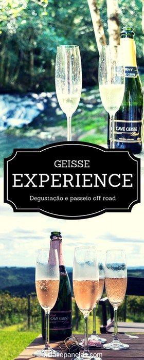 Geisse Experience | A degustação de espumantes mais radical da Serra Gaúcha | Malas e Panelas