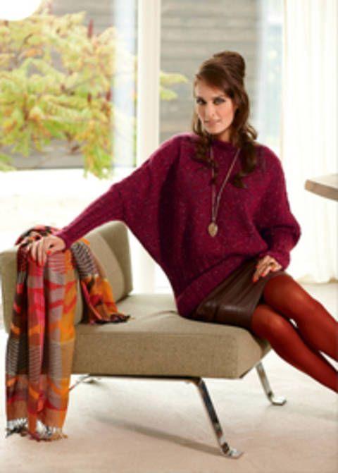 Ceridwen Pull femme - tricot chez Makerist