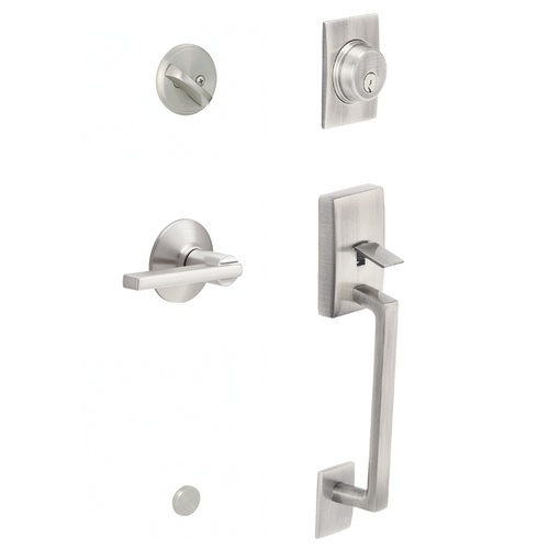 Zoomed Schlage Century Satin Nickel Residential Single