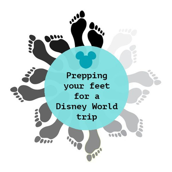 How to have happy feet at Disney World