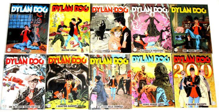 Dylan Dog 191-200 prima edizione