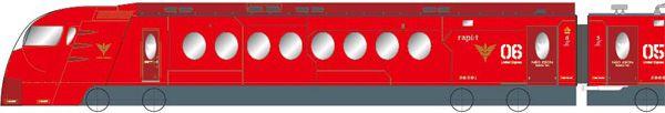 南海ラピート×機動戦士ガンダムUC| 赤い彗星の再来  ネオ・ジオンバージョン|2014.4.26~