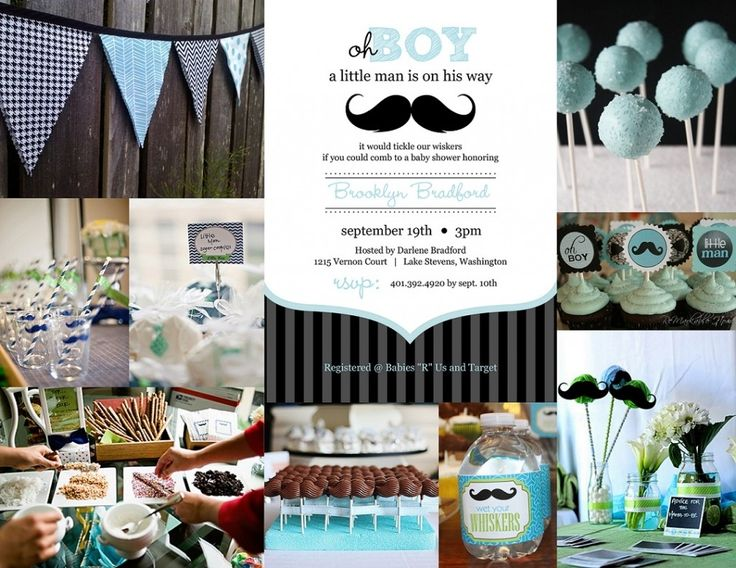 25+ best Mustache baby showers ideas on Pinterest | Little ...