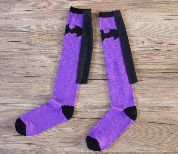 Women's Superhero Socks - free shipping worldwide