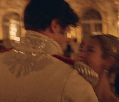"Lily James and James Norton in BBCs ""War and Peace"". I loved watching this scene; I wish it was longer."