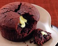 Moelleux au chocolat coeur coulant chocolat blanc