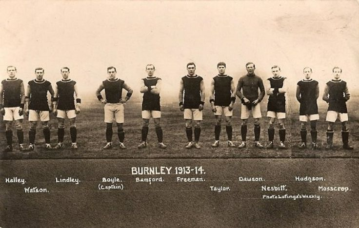 Players of Burnley Football Club, 1913/14