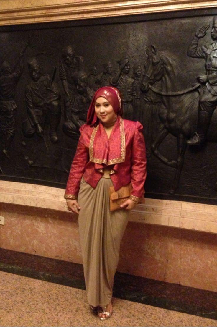 Blazer #dianpelangi collection skirt #indijbyindiraputri