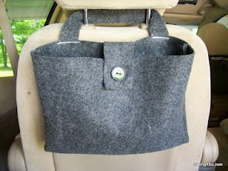 Saving 4 Six: Easy Back Seat Bags for the Mini Van