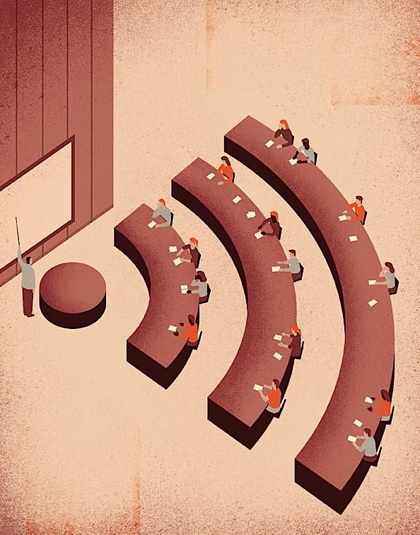 Conceptual Illustrations by Davide Bonazzi