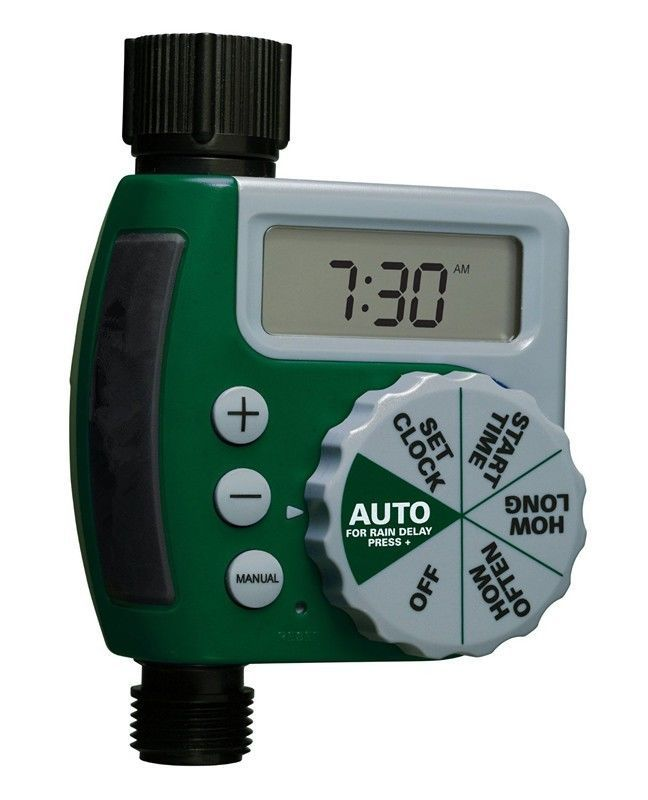 Single-Dial Water Timer Digital Garden Hose Lawn Irrigation #unbrand
