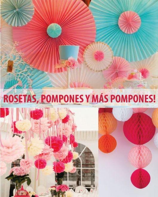 rosetas-pompones-papel-de-seda                                        TARJETAS IMPRIMIBLES  blog
