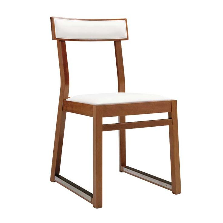 Andy Thornton Italia side chair with upholstered seat