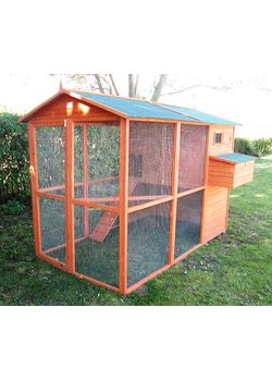 hønsehuse og tilbehør salg