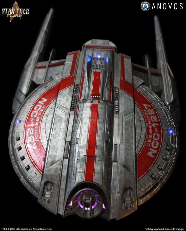 STAR TREK: DISCOVERY — NCC-1227 U.S.S. Shenzhou, Walker Class Studio-Scale Starship Filming Miniature (Wave 2 Reservation)