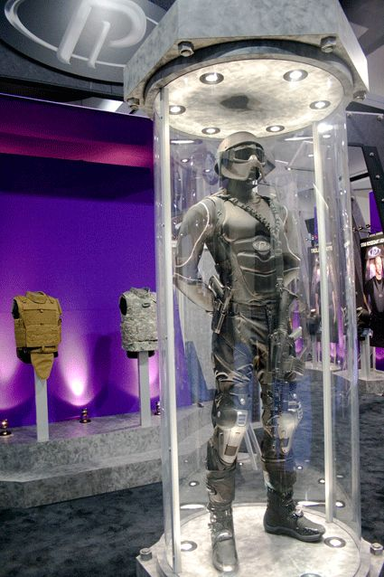 Tactical Life PROTECTIVE PRODUCTS' Futuristic Body Armor our guys need something like this now