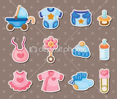 Детские этикетки — Stock Illustration #11066677