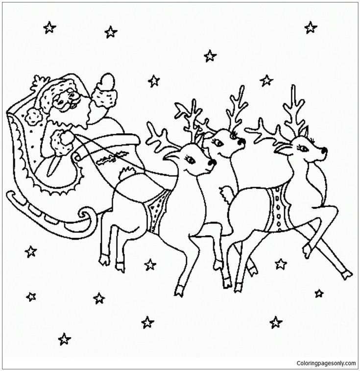 32 best Christmas Coloring Pages images on Pinterest | Colouring ...