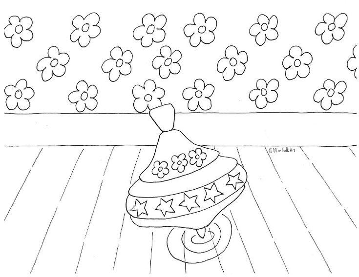 free santa workshop coloring pages - photo#17