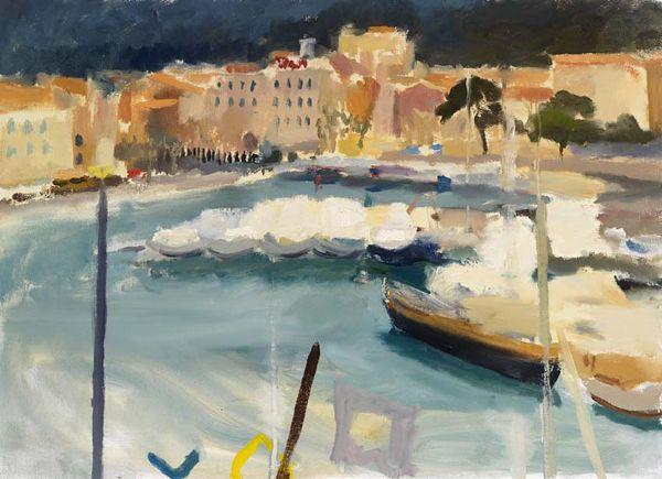Annabel Gault: Harbour, Cassis VII Campden Gallery