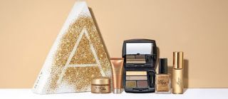 Avon Beauty of Gold A Box   Go for the Gold  The Beauty of Gold A Box contains 2 full-size faves and 3 try-it sizes.  Anew Power Serum (.24 oz.)  Anew Ultimate Multi-Performance Night Cream (.5 oz)  Rare Gold Eau de Parfum Travel Spray (.5 oz)  Gel Finish 7-in-1 Nail Enamel in Glimmer (.4 oz)  Avon True Color Eyeshadow Quad in Gilded Metallics (.176 oz)  $10 with any $40 Avon order at http://ift.tt/1OP1suY